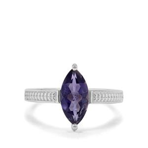 Bengal Iolite Ring in Sterling Silver 1.29cts