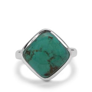 Lhasa Turquoise Ring in Sterling Silver 6cts