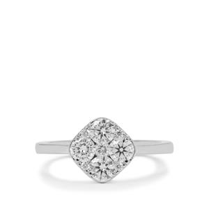Diamond Ring in Platinum 950 1.05cts