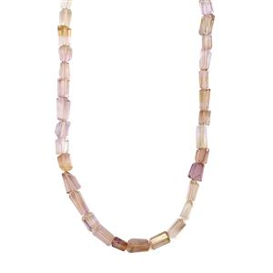 Ametrine Nugget Necklace in Sterling Silver 95cts