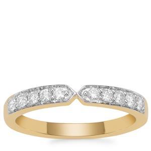 Diamond Ring in 18K Gold 0.27ct