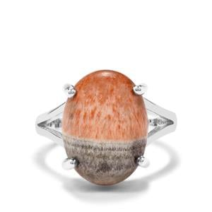 11ct British Barite Sterling Silver Aryonna Ring