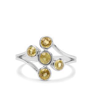 1.14ct Ambilobe Sphene Sterling Silver Ring