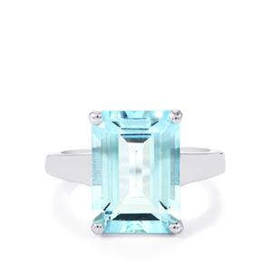 Sky Blue Topaz Ring in Sterling Silver 8.73cts