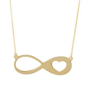 "18"" Midas Altro Infinity Necklace 1.43g"