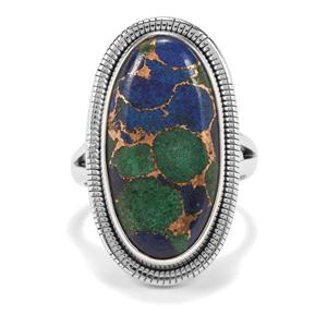 14ct Mojave Azurite Sterling Silver Aryonna Ring