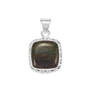 Andamooka Opal Pendant in Sterling Silver 8.50cts