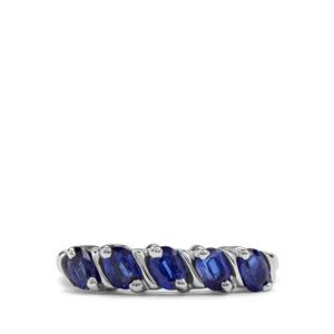 1.21ct Daha Kyanite Sterling Silver Ring