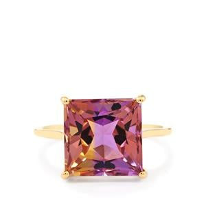 Anahi Ametrine Ring in 9K Gold 6.10cts