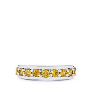 1.06ct Ambilobe Sphene Sterling Silver Ring