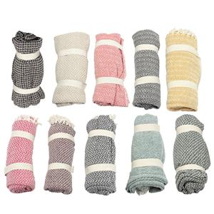 Choice of Environment Friendly Recycled Throw in 10 different Colors
