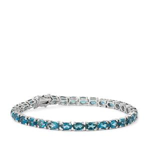 Marambaia London Blue Topaz Bracelet in Platinum Plated Sterling Silver 15.23cts