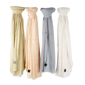 100% Modal Plain Dyed Ladies Destello Scarf (Choice of 4 Colours)