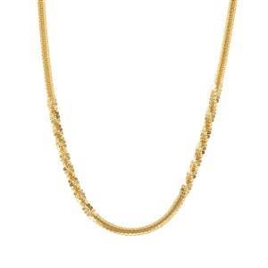 "36"" Midas Couture Criss Cross Chain 6.36g"