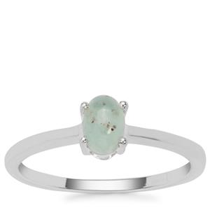 Aquaprase™ Ring in Sterling Silver 0.54ct