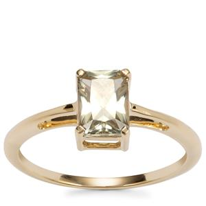 Csarite® Ring in 9K Gold 1.08cts