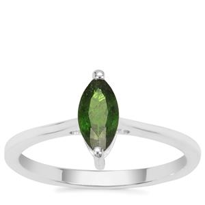 Chrome Diopside Ring in Sterling Silver 0.53ct