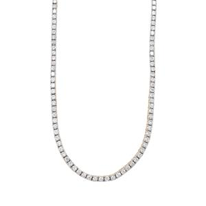 Diamond Necklace in 18K Gold 4ct