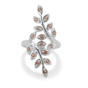 Sopa Andalusite Ring in Sterling Silver 0.55ct