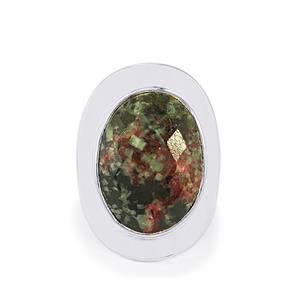 16ct Eudialyte Sterling Silver Aryonna Ring