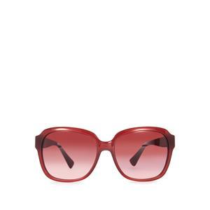 Coach Black Cherry Square Rim Sunglasses