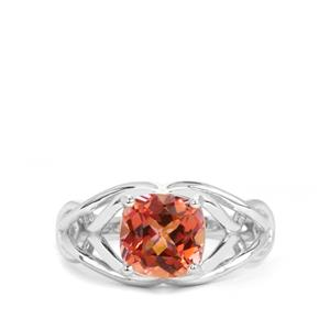 2.76ct Mystic Twilight Topaz Sterling Silver Ring