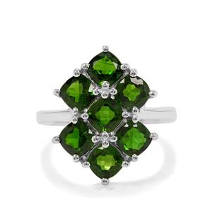 4.28ct Chrome Diopside Sterling Silver Ring