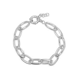 """7"""" Sterling Silver Altro Big Link Bracelet 14.26g"""