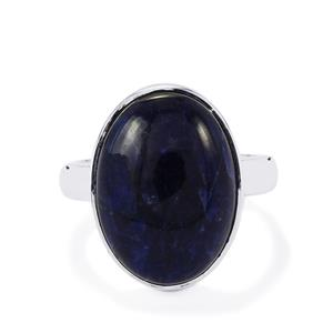 9.80ct American Sodalite Sterling Silver Aryonna Ring