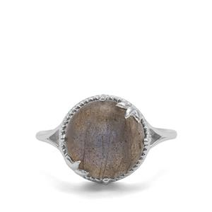 5.57ct Labradorite Sterling Silver Ring