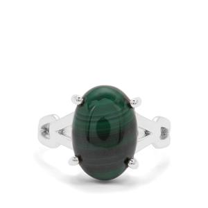 Malachite Ring in Sterling Silver 7.85cts