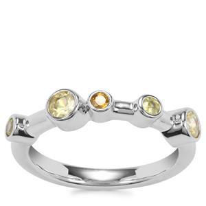 Ambilobe Sphene Ring with Morafeno Sphene in Sterling Silver 0.60ct