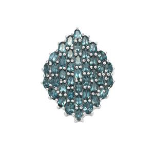 Marambaia London Blue Topaz Pendant in Sterling Silver 11.43cts