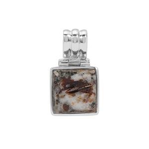 11ct Astrophyllite Sterling Silver Aryonna Pendant