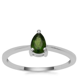 Chrome Diopside Ring in Sterling Silver 0.48cts