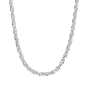 "24"" Sterling Silver Couture Criss Cross Chain 4.43g"