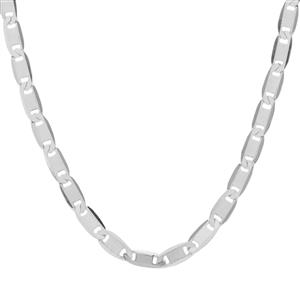 "24"" Sterling Silver Tempo Mariner Slider Chain 3.03g"