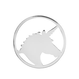 Unicorn Sterling Silver Disc 4.83g