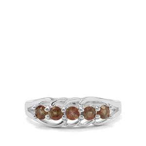 0.53ct Sopa Andalusite Sterling Silver Ring