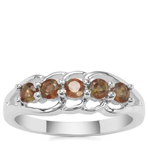 Sopa Andalusite Ring in Sterling Silver 0.53cts