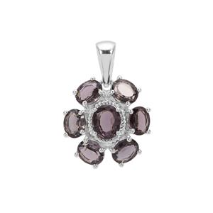 Mogok Silver Spinel Pendant in Sterling Silver 3.53cts