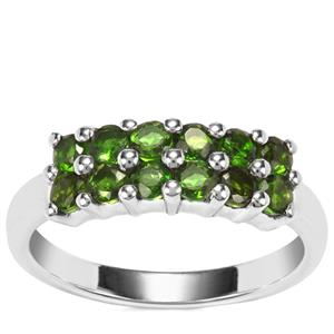 Chrome Diopside Ring in Sterling Silver 0.95ct