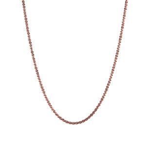 """20"""" Rose Tone Sterling Silver Couture Tocalle Chain 2.79g"""