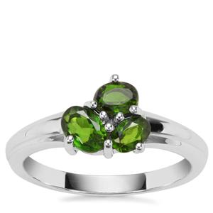 Chrome Diopside Ring in Sterling Silver 0.88ct