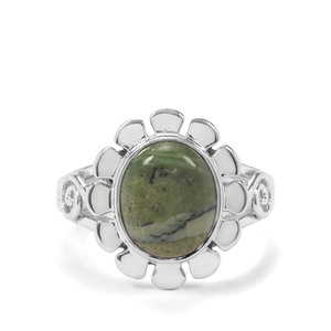 3ct Chemin Opal Sterling Silver Aryonna Ring