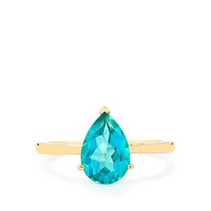 Batalha Topaz Ring in 9K Gold 2.19cts
