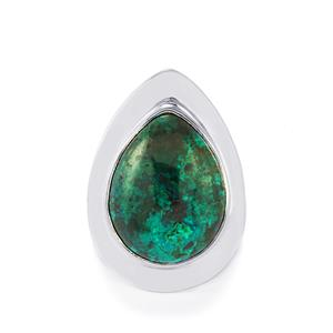 Chrysocolla Ring in Sterling Silver 16cts