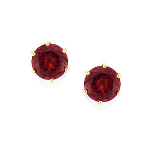 Umbalite Earringsin 10K Gold 4.74cts