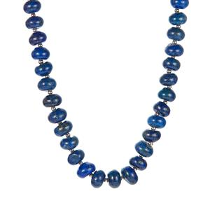 238.25ct Lapis Lazuli Sterling Silver Necklace