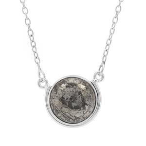 14ct Feather Pyrite Sterling Silver Aryonna Necklace
